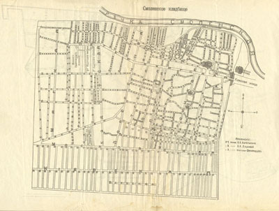 Карта-схема Смоленского