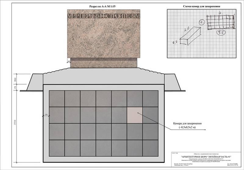 план схема южного кладбища спб